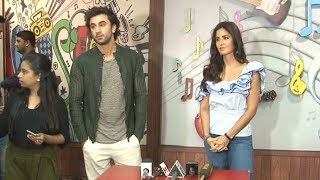 Ranbir Katrina AWKWARD Moments At Jagga Jasoos Interview