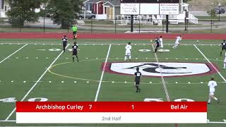 Curley vs Bel Air Soccer