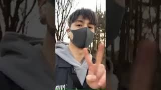 CROSS GENE 크로스진 Sangmin instagram live 12 Maret 2020