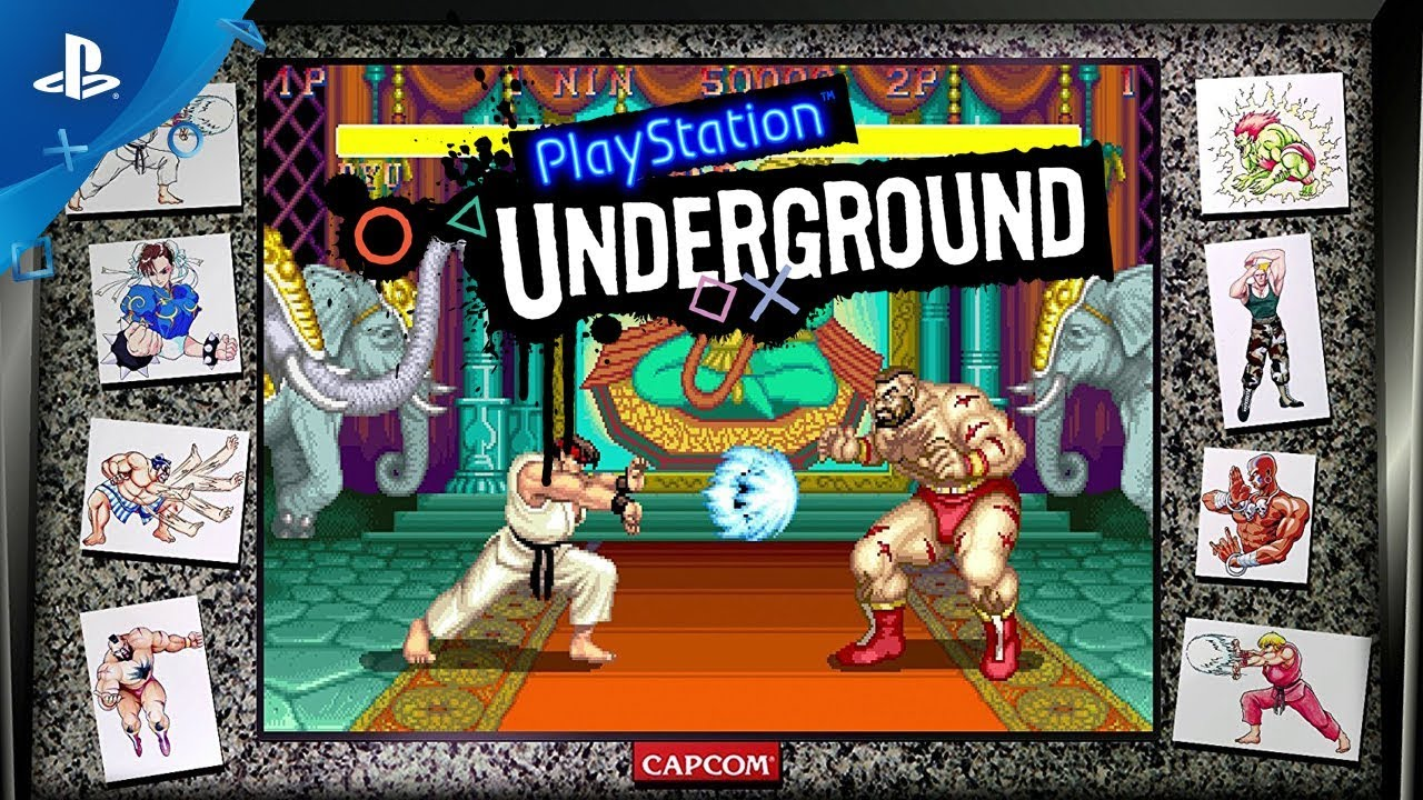 Street Fighter 30th Anniversary Collection Gameplay | PlayStation Underground