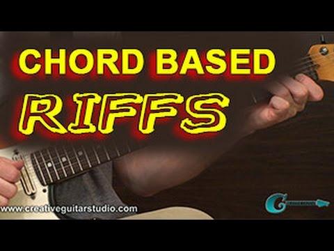 BEGINNER GUITAR: Chord Based Riffs