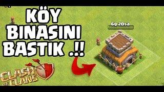 BELEDİYE BİNASINI BASTIK !! KÖY BİNASI 9 | Clash Of Clans