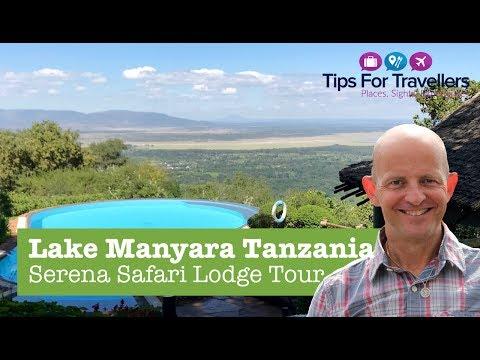 Lake Manyara Serena Safari Game Lodge Tanzania Tour and Review