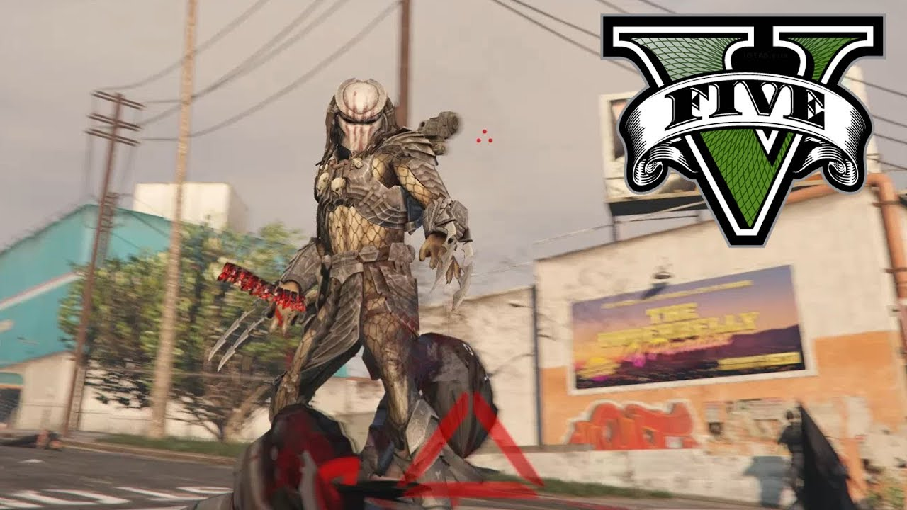 JulioNIB's Predator mod for GTA 5 is faithful to the films, even the