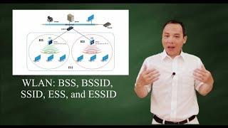 Wireless LAN: WAP, BSS, BSSID, SSID, ESS, & ESSID