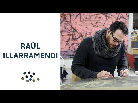 RAUL ILLARRAMENDI 1/3 - Artist in Studio