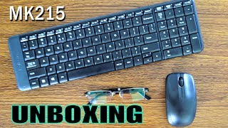 Logitech MK215 Wireless Keyboard and Mouse Combo Unboxing & Overview | Hindi