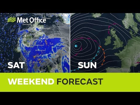 Weekend Weather - Rain, But Not All The Time 21/11/19