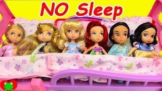 Disney Princess Sofia the First Babysits Baby Toddler Princesses