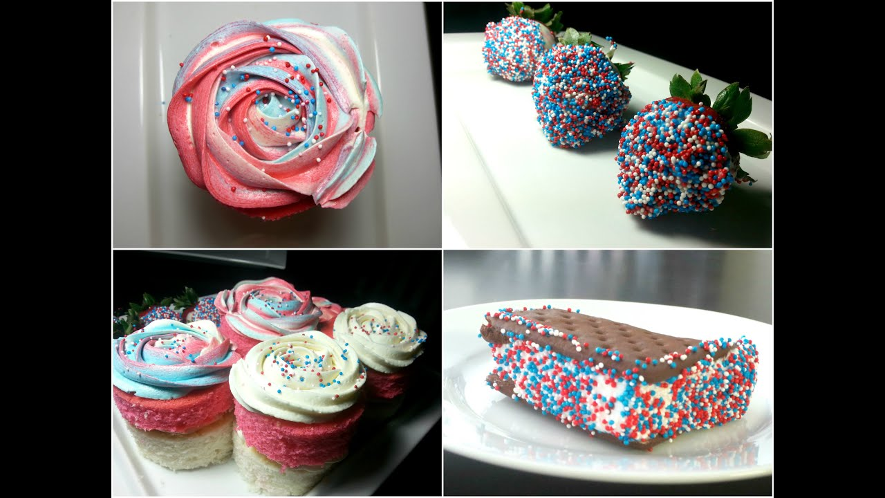 Easy Fourth Of July Dessert Ideas Youtube