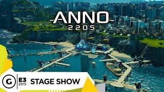 Stage Demo: Anno 2205 - E3 2015
