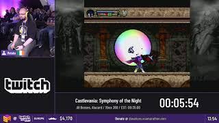 #TwitchConEU19 Speedruns - Castlevania: SotN [All Bosses, Alucard + Any%, Richter] by Metako