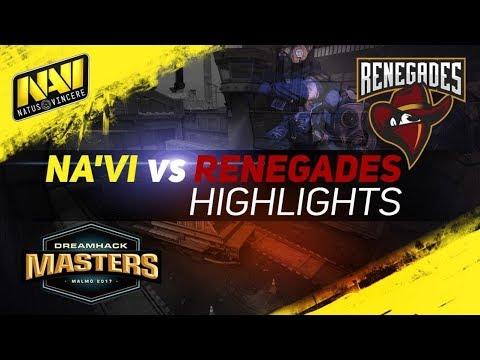 ХАЙЛАЙТЫ NAVI vs Renegades » Dreamhack Masters Malmö 2017