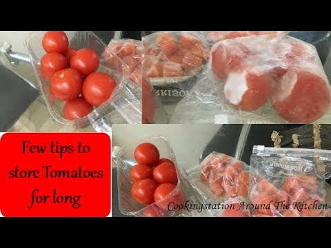 Few Tips To Tomatoes For Long
