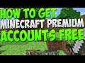 How To Get FREE Minecraft Premium Accounts! *2017*