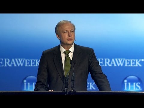 BP CEO Bob Dudley on The US, Russia and the World's Energy Journey at CERAWeek 2013