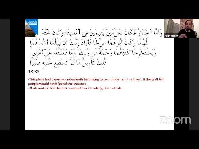 Friday Halaqah - Lessons from Surah al-Kahf (Part 2) Musa and Khidhr (Hussain Shefaar)
