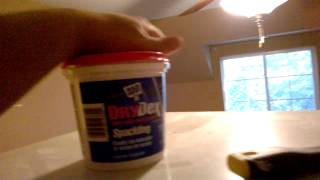 Primo Painting: Proper prep - knifing and spackling walls