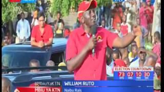Naibu wa Rais William Ruto amueleza gavana Hassan Joho arudi shuleni