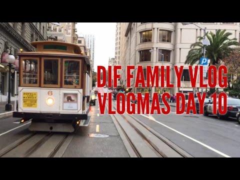 The Sights Of A San Francisco Christmas - VLOGmas 2016 - Day 10