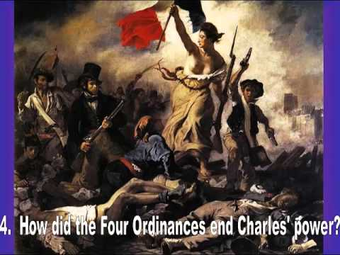 AP Euro-Revolutions in France in 1830 and 1848