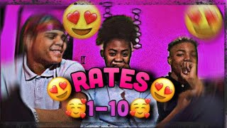 RATING FAMOUS PEOPLE😻😝