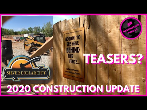 Silver Dollar City 2020 Construction Update #2: Teasers?