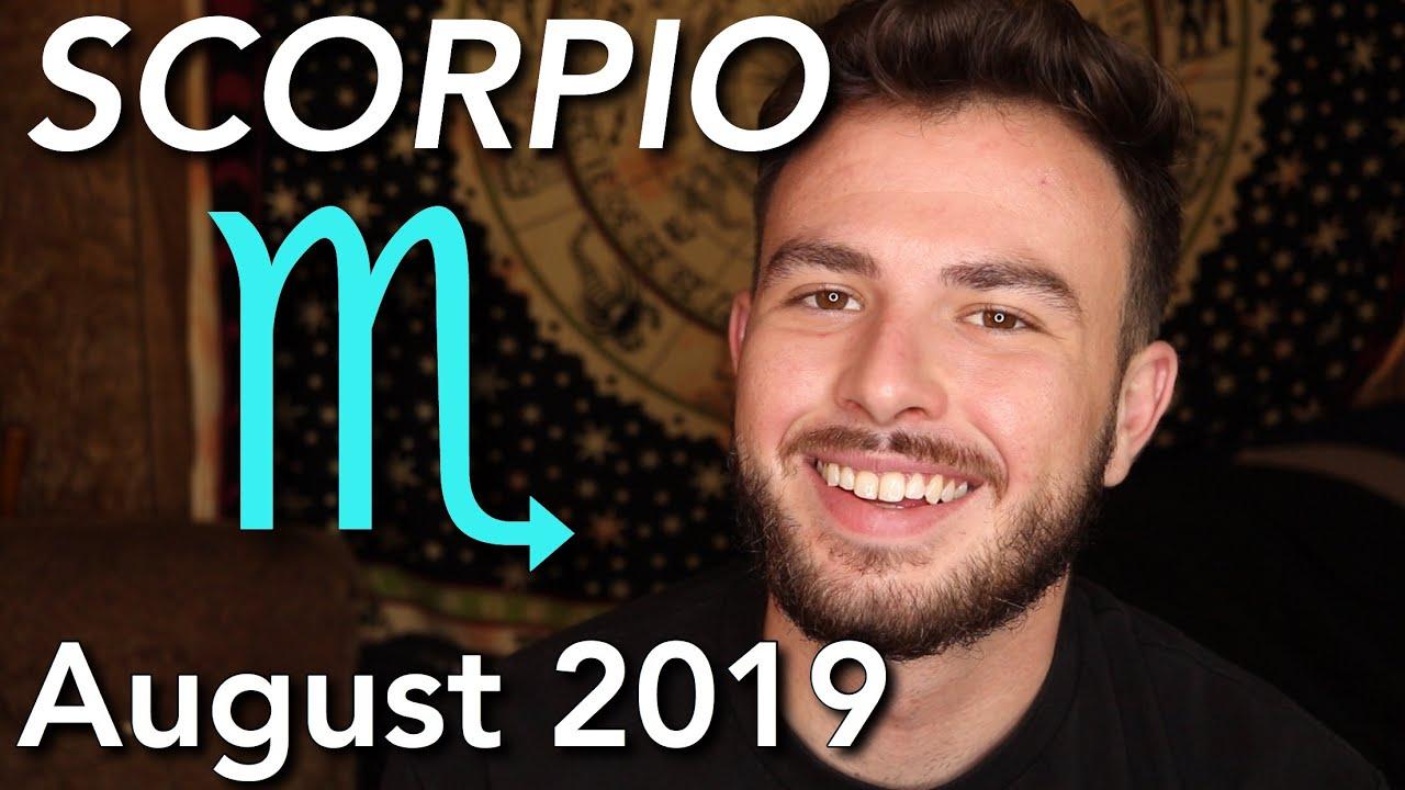 SCORPIO August 2019 Horoscope - Shift in Career Opportunities & Friends