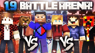 VIKKLAN vs MEROME vs POOFLESS (Minecraft 1.9 BATTLE ARENA)
