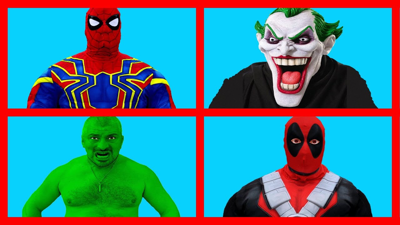 All Superheroes Transformations