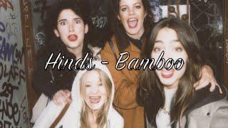 Hinds - Bamboo Lyrics