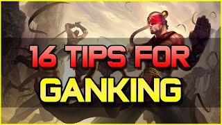 ✔ 16 Tips when Ganking as a Jungler | League of Legends
