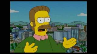 Homer Simpson VS Ned Flanders