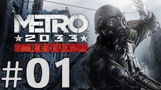 Metro 2033 Redux - Gameplay ITA - Walkthrough #01 - Base sotterranea