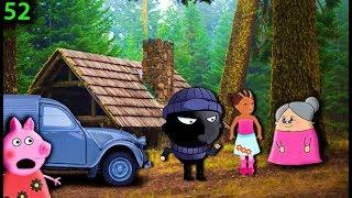 Мультики свинка пеппа новые серии на русском 52 БАНДИТ И БАБУЛЯ Мультфильмы для детей