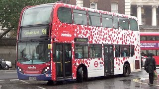 Transport for London Poppy Appeal Advertising