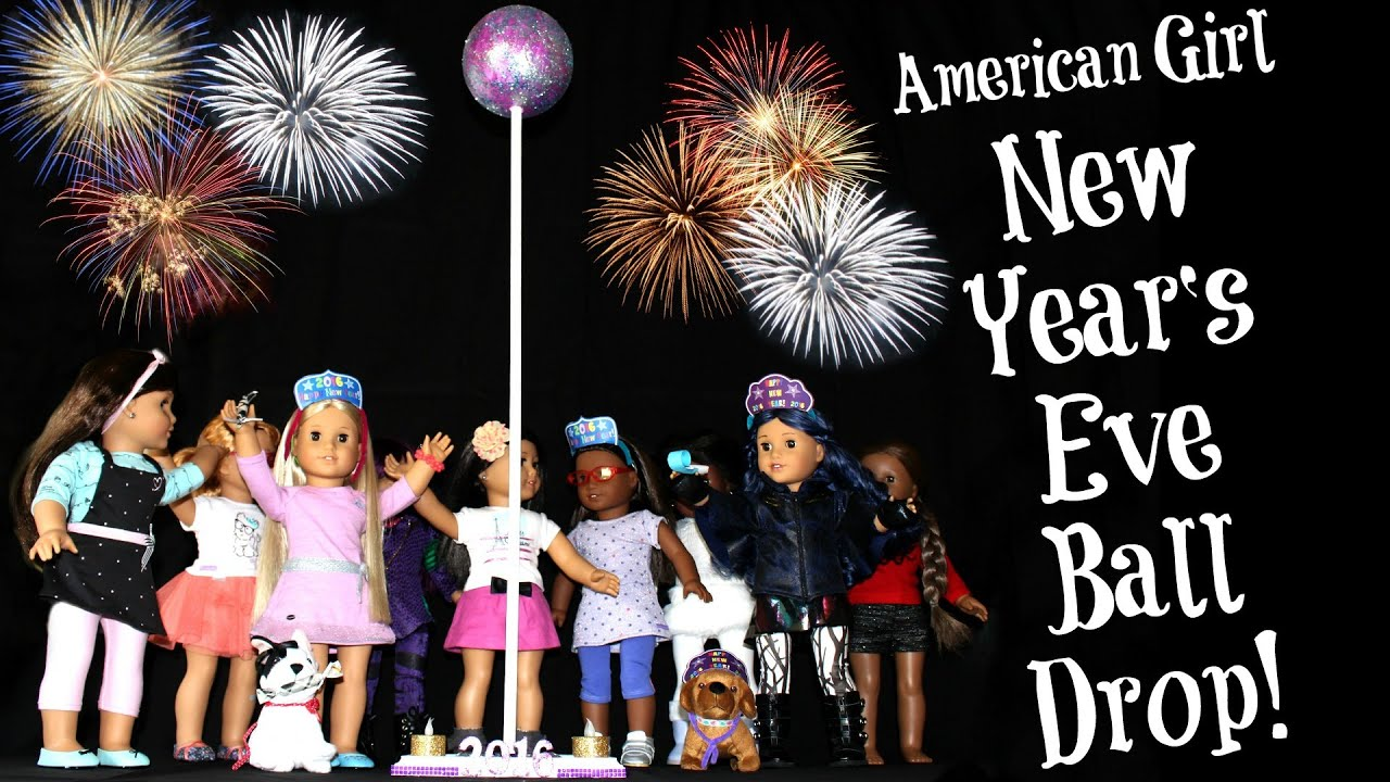 diy american girl doll new years eve party crafts youtube