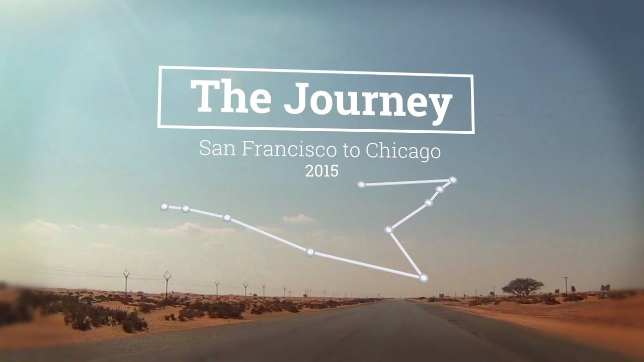 The Journey Map Slideshow After Effects Template YouTube