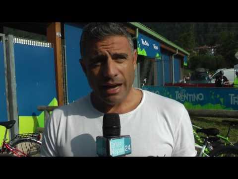 Dimaro 2017, l'ex Napoli Massimiliano Esposito (21-07-2017)