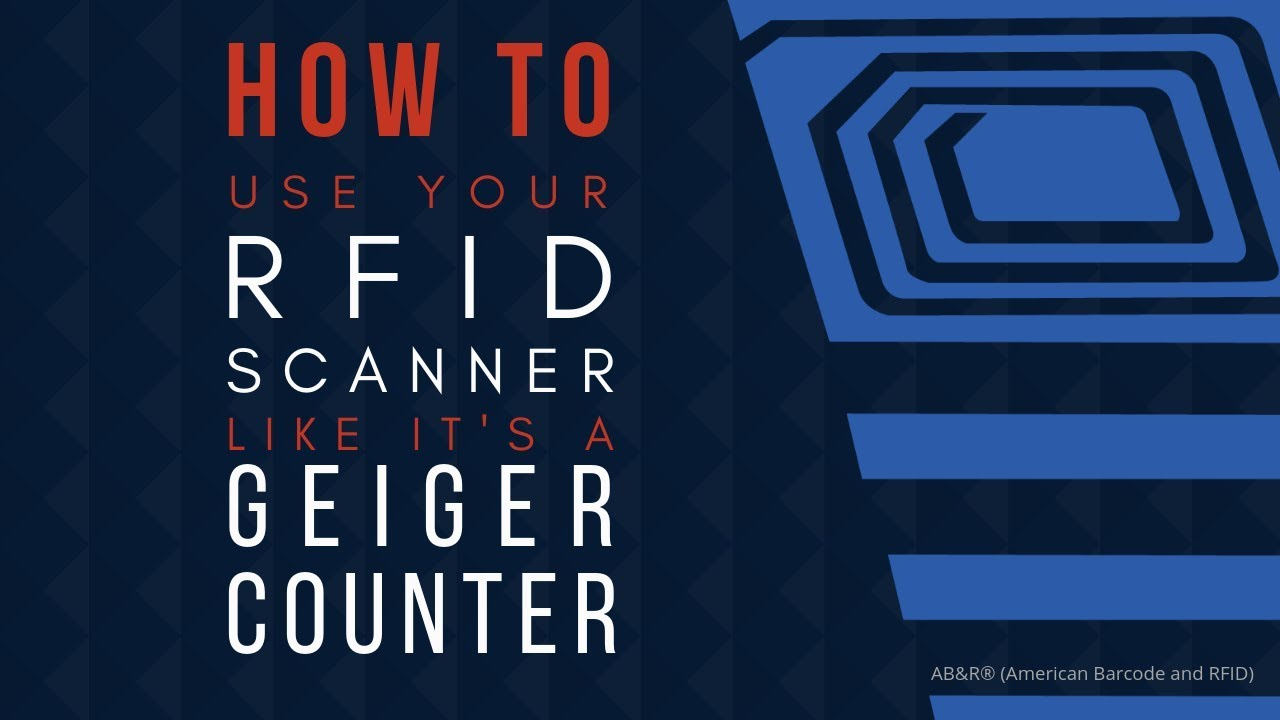 How To Put A Scanner Into Geiger Counter Mode