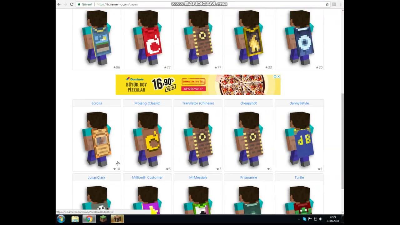 Minecraftta Nasıl Skin Olurpelerinli Skin NameMC YouTube - Skinuri minecraft namemc