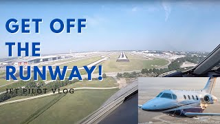 Landing at the world's busiest airport-GET OFF THE RUNWAY!