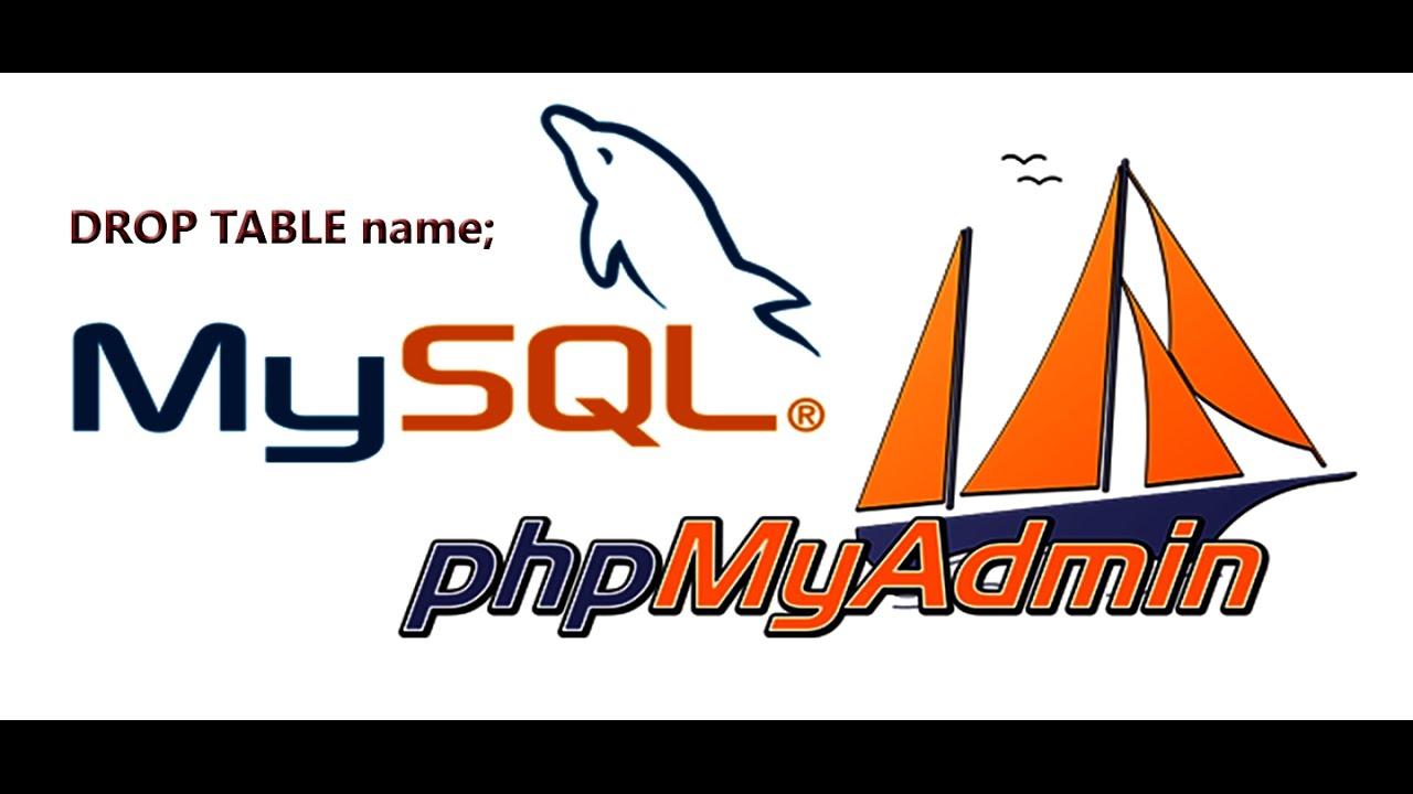 Phpmyadmin2016 - How To Delete Database From Phpmyadmin 2016