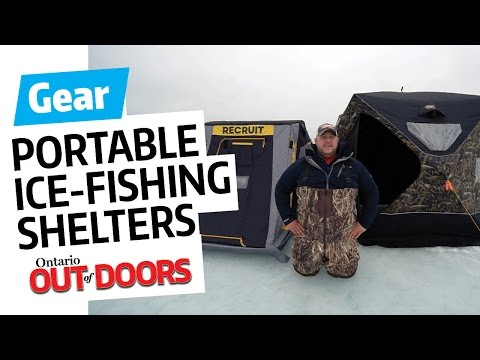 Choosing A Portable Ice-fishing Shelter — What Style's Best For You