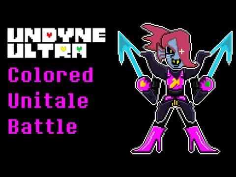 Unitale - (FINISHED) Undyne Ultra Colored (Storyshift AU Battle) -