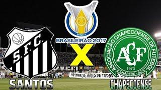 Santos 1 x 0 Chapecoense (19/07/2017) Campeonato Brasileiro 2017 - 15° Rodada [PES 2017]