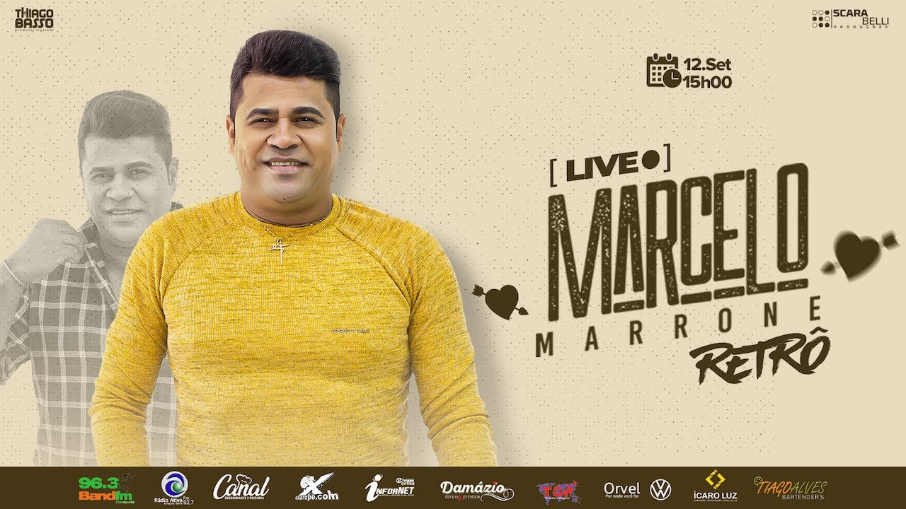 Live Marcelo Marrone Retrô