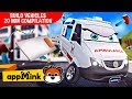 #appMink car animation – How To Build Cars f.t Ambulance Car, Crane Truck, Bus