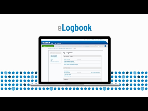 Ecolab Pest eLogbook Instructional Video