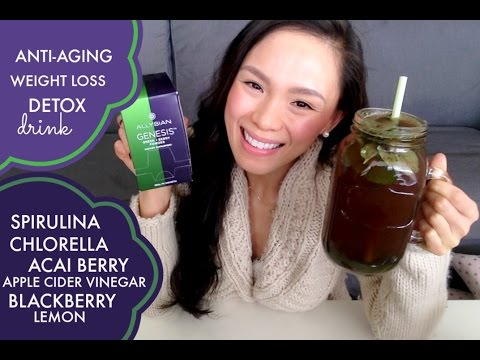 Anti-Aging and Detox Drink | Fight Fatigue, Improve Digestion, Curb Sugar Cravings + Weight Loss!